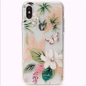 Kate Spade Jeweled Botanical iPhone XS Max Case